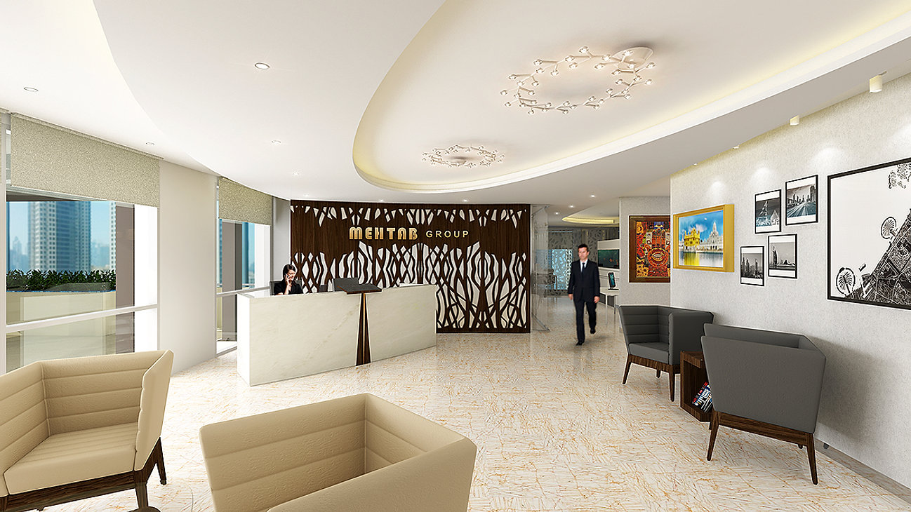 WL Hospitality Bay Square BB10 5th Level Business 91100sqmts Customized Office Interiors