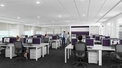 Bank Open Workstation Design