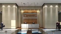 Main Building Reception Lobby Design