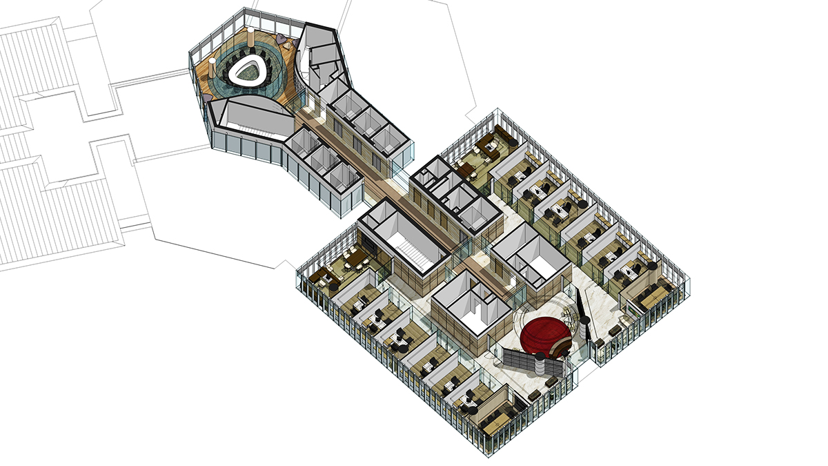 isometric interior