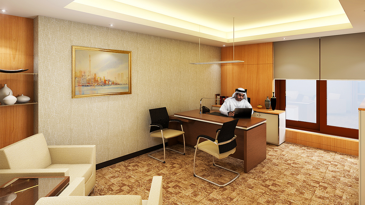 Chairman's Office Interiors