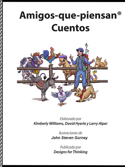 Thinking Friends Stories book (Spanish version only) Please contact us