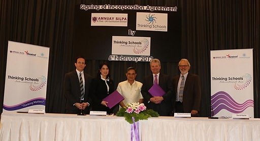 Thailand Amnuay Silpa School, was the first accredited Thinking School in SE Asia