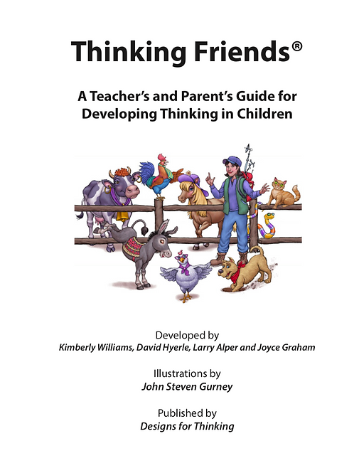 Thinking Friends Set: Teacher's/ Parent's Guide and  Stories Book