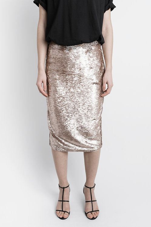 Vintage Lipsy Sequin Pencil Skirt