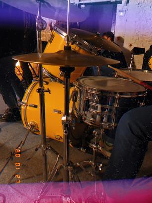 The basment drum kit