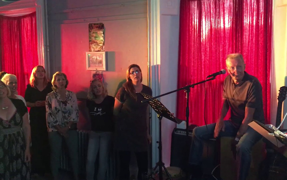 One of my one-off Pop-Up Pub Choir events!