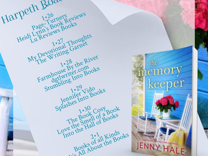 Blog Tour: The Memory Keeper by Jenny Hale