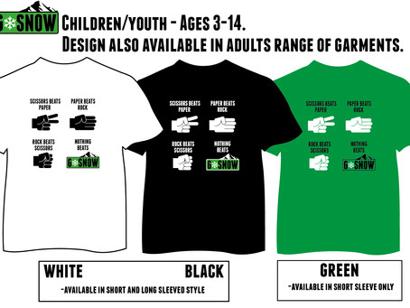 Looking for Christmas presents? Check out our new t-shirts!