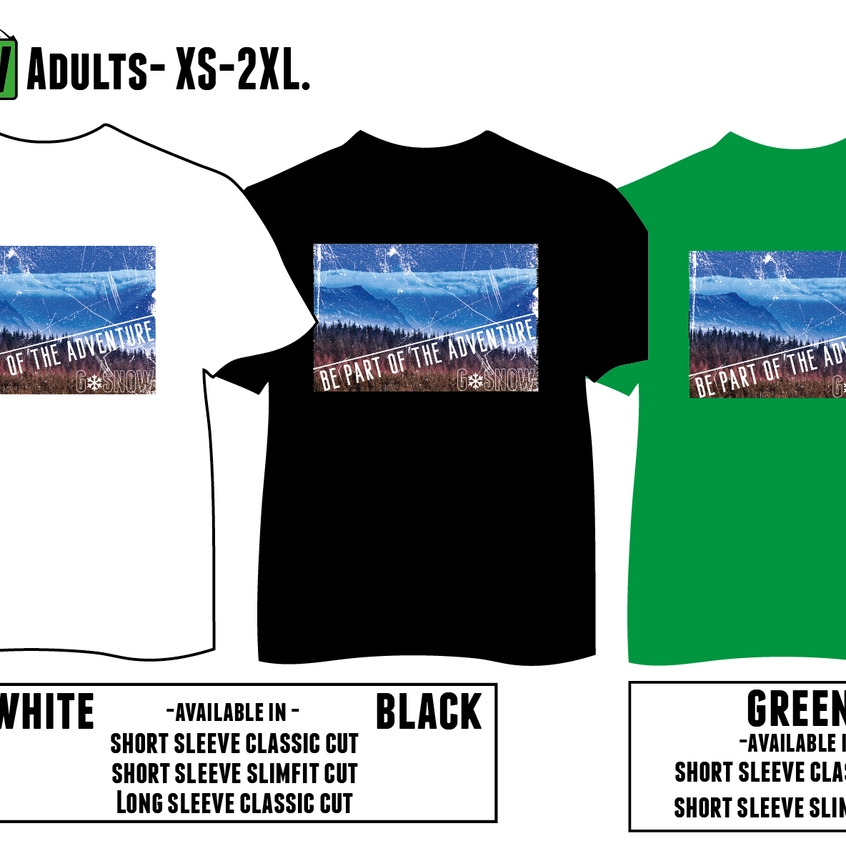 Be Part of the Adventure Tshirt