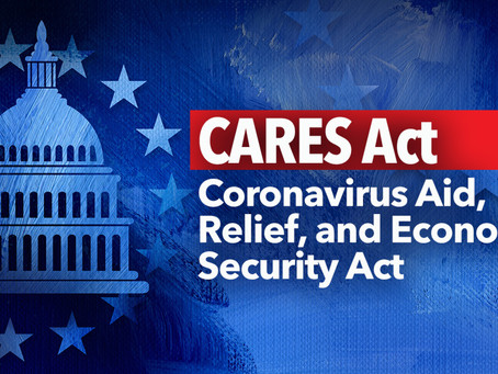 Extension of CARES Act Must Happen Now