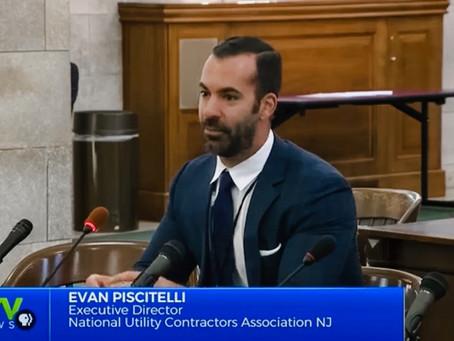 NJTV Features Testimony of NUCA NJ Executive Director
