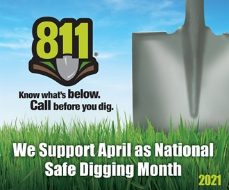 """National Safe Digging Month"" Begins April 1"