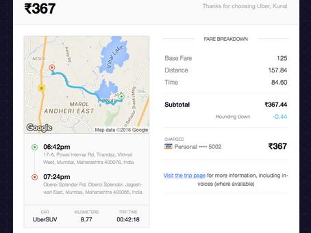 Mumbai: Uber vs Rickshaw