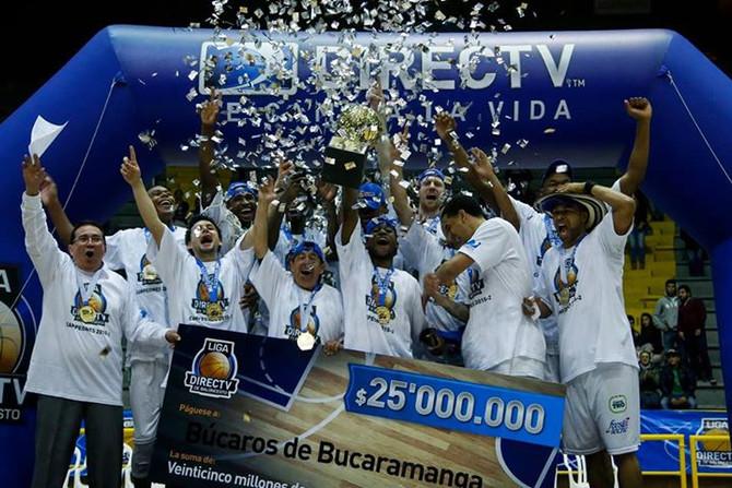 Búcaros campeón en la Liga DirecTV 2015-2