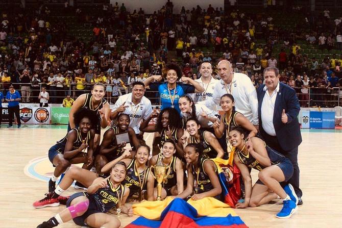 Colombia, campeón sudamericano U17 femenino