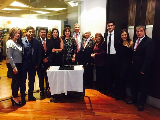'El Guajiro' Romero recibió un homenaje por su vida deportiva