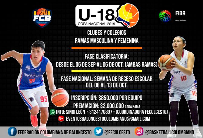 Comienza la Copa Nacional U18 en Cali y Cundinamarca.