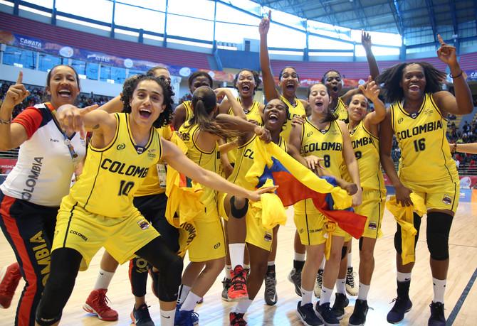Colombia consiguió el oro sudamericano