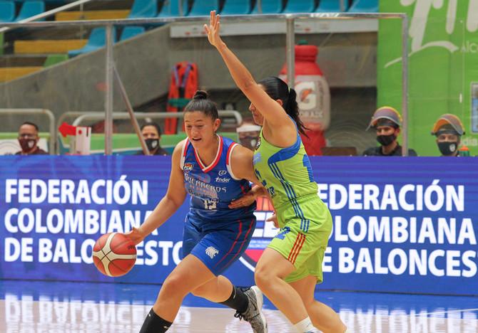 Definidos los cuadrangulares para la segunda fase de la Liga Superior de Baloncesto Femenino 2020