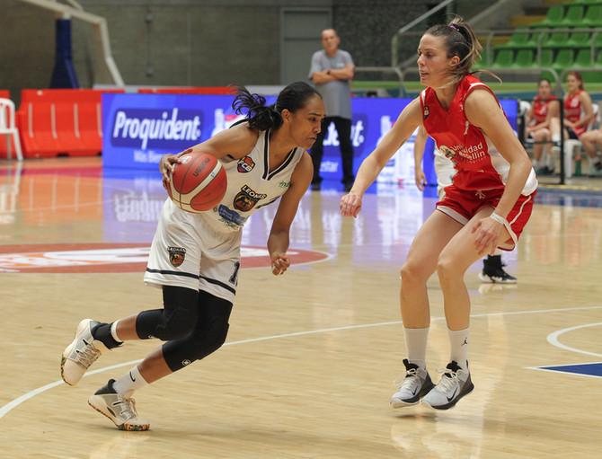Dos duelos regionales se vivieron en la Liga Superior de Baloncesto Femenino 2020
