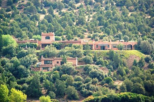 villa à louer dans la région de Marrakech, haut Atlas