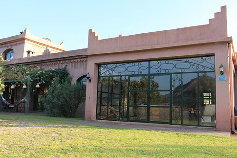 location maison Marrakech, massage, salle de repos, détente, se ressourcer au Maroc