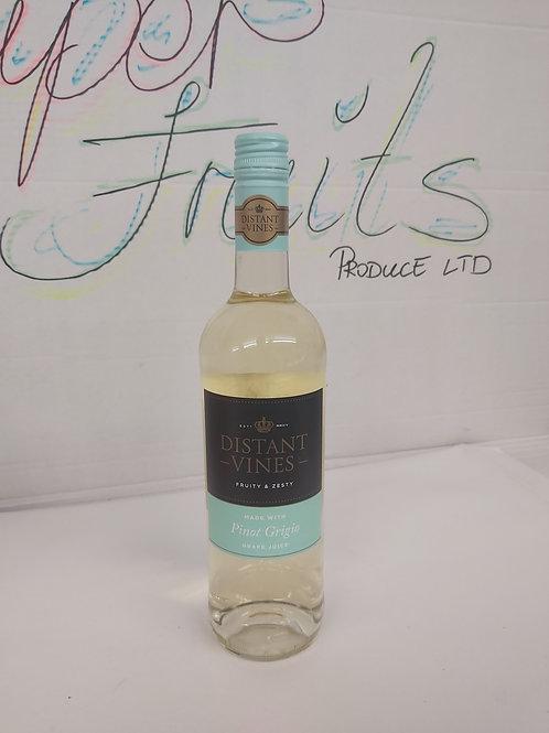 Distant Vines Pinot Grigio Grape Juice 75cl 8%vol