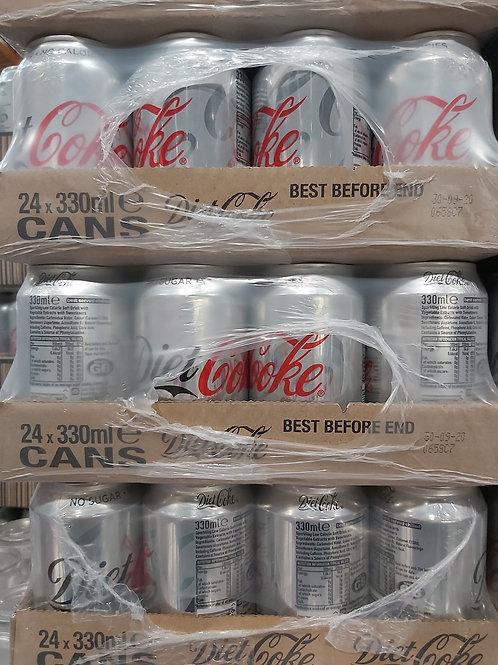 Diet coke 24 x 330ml can
