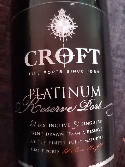 Croft Platinum Reserve Port 75cl