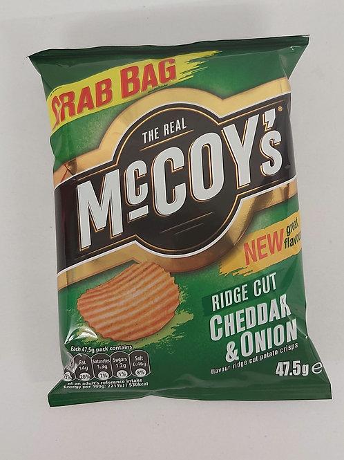 McCoy's Cheddar & Onion 47.5ge