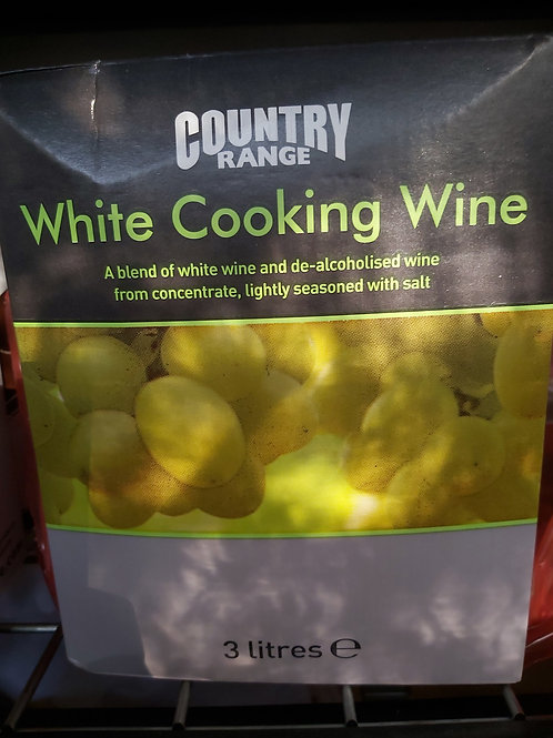 Cooking  white wine