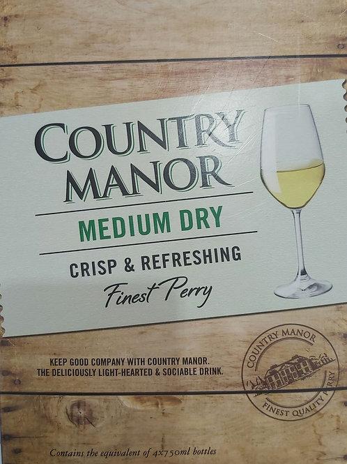 Country Manor Medium dry 3 litre e 6.8% vol