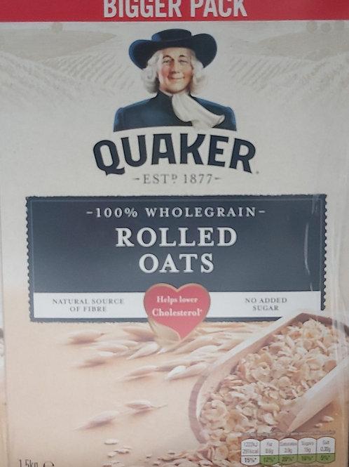 Quaker Rolled Oats 1.5kg