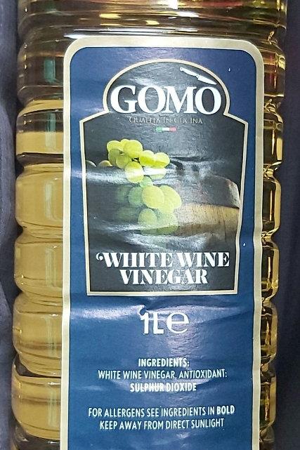 Gomo White Wine Vinegar 1L