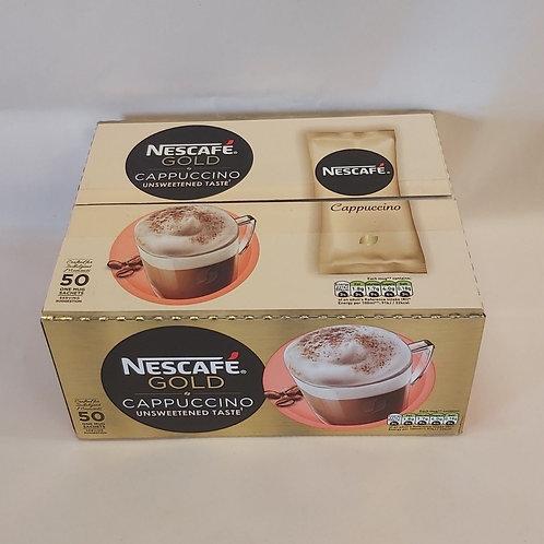 Nescafe Gold Cappuccino 50 sachets (£0.24 each)
