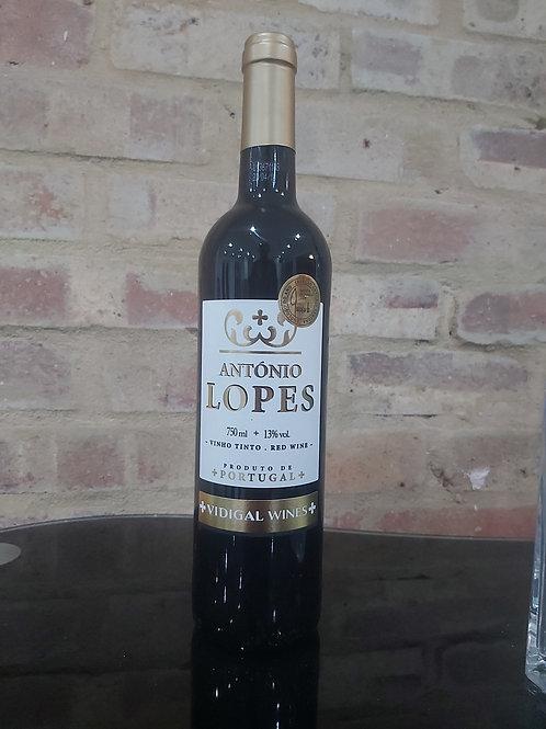 Antonio Lopes red wine 75cl 13% (Portugal)