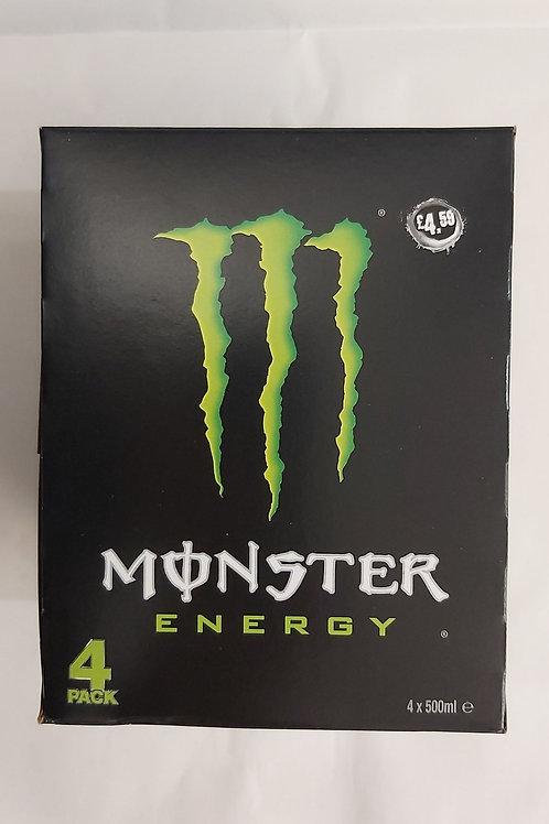 Monster Energy 4 x 500ml e