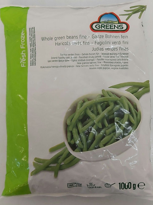 Fine Beans 1kg Frozen