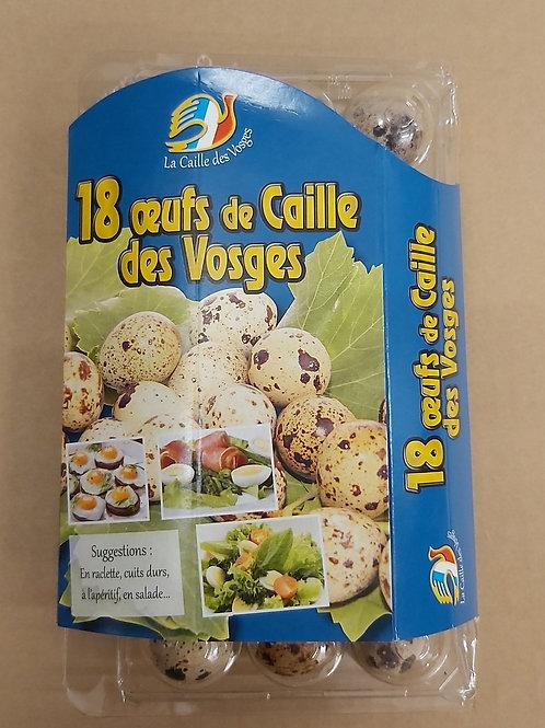 Quails Eggs x18