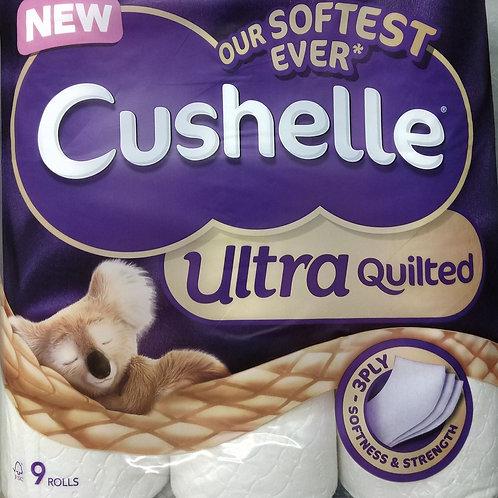 Crushelle Toilet Paper X 9 rolls