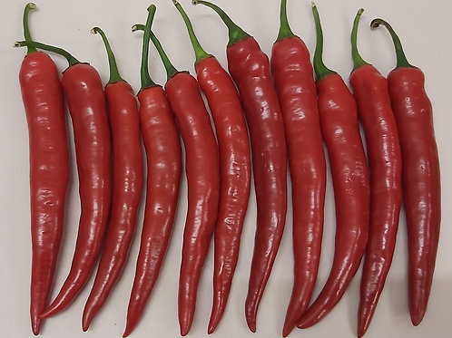 Red chillies 100g