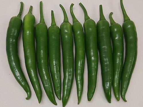 Green chillies 100g