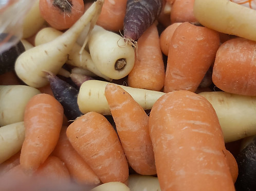Heritage chantaney carrots 500g