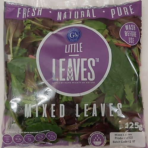 Baby mix leaves 125g