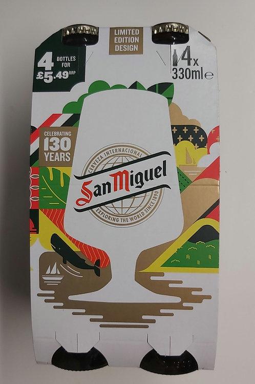 San Miguel Beer 4 x 330ml e