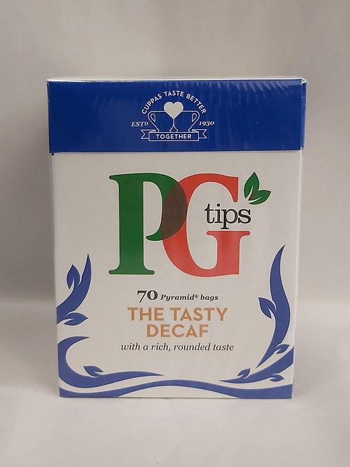 PG Tips Decaf 70 Bags
