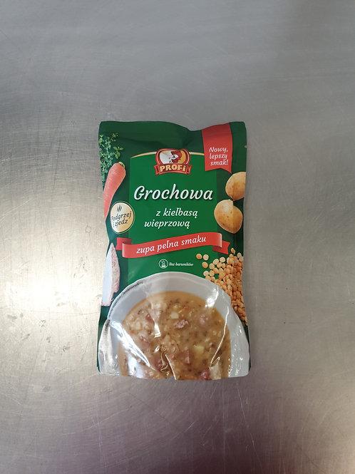 Pea soup with pork sausage 450ml