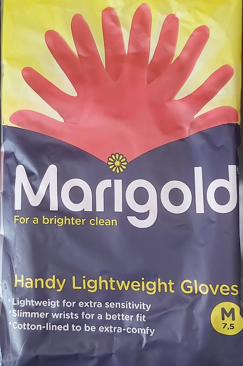 Marigold gloves (1 pair) Medium size