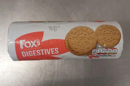 Fox Digestives 400g